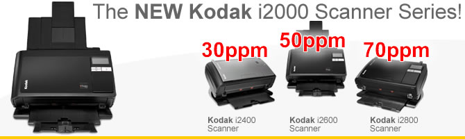 Kodak i2000 Scanner Family