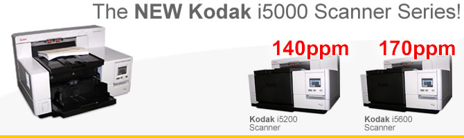 Kodak i5000 Scanner Family